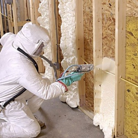 Polyurethane insulation spray